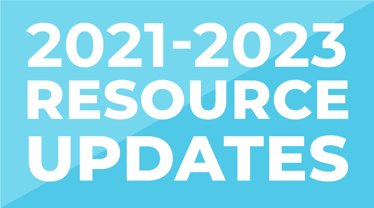 2021-2023 Resource Updates