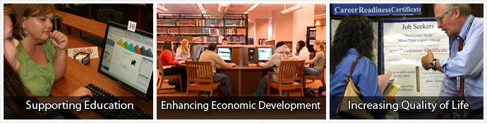 NC LIVE: Supporting Education, Enhancing Economic Development, Increasing Quality of Life
